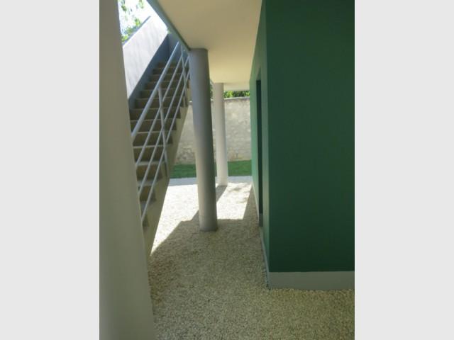 Des matériaux difficiles à restaurer  - La Maison du Jardinier de Le Corbusier