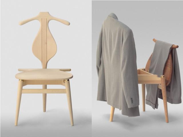 PP 250 Valet Chair par Hans Wegner - Blog Esprit Design
