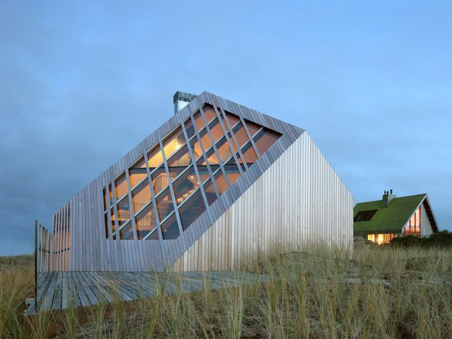 Une architecture intégrée au paysage - Dune House