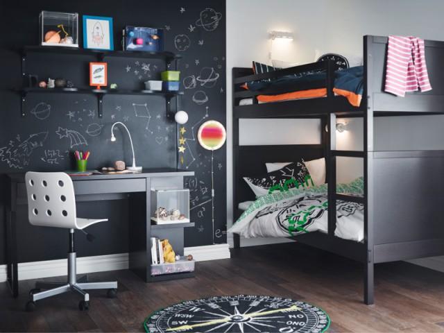Chambre entre science et astronomie - Tendances chambre d'enfants