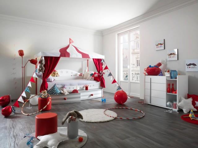 Chambre façon cirque  - Tendances chambre d'enfants
