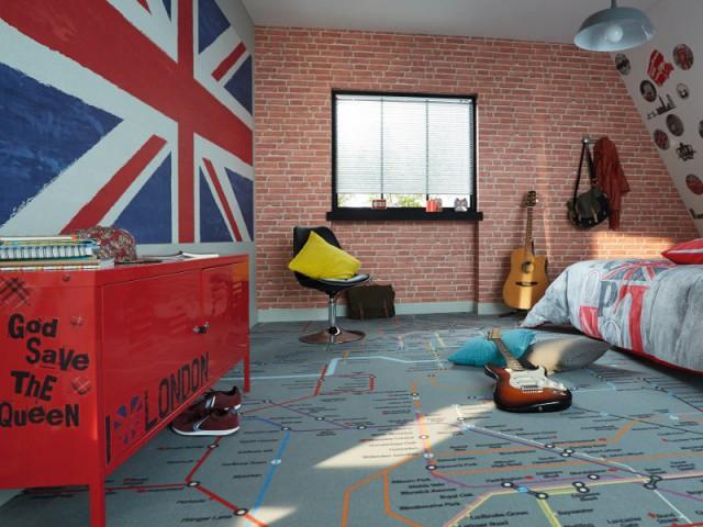 Chambre urbaine-branchée - Tendances chambre d'enfants