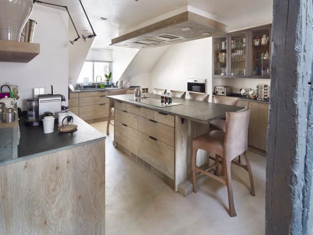 Matériaux nobles riment avec esthétique - Cuisine et salle à manger Xavie'z