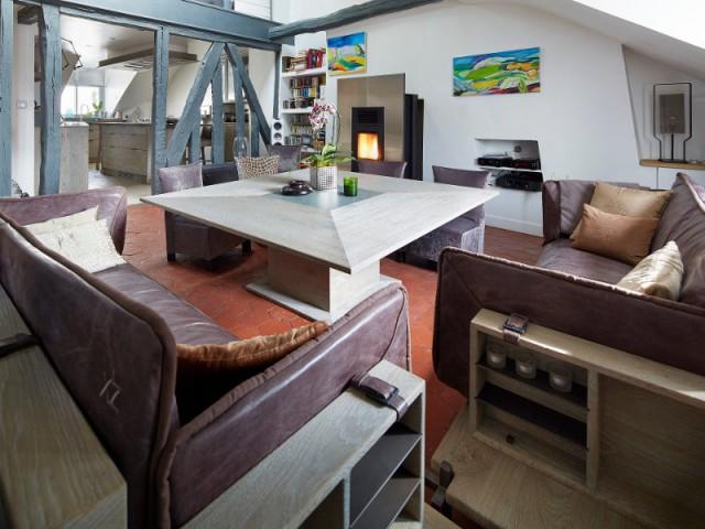 Des canapés inspirés des chaises à porteur du Moyen-âge - Cuisine et salle à manger Xavie'z