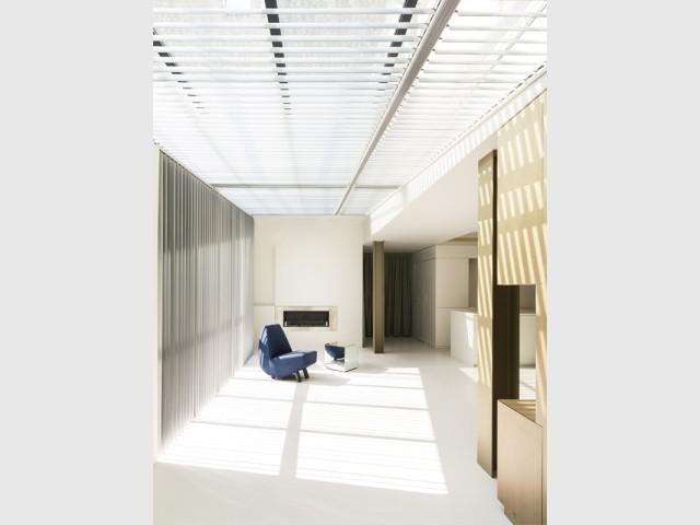 Des espaces modulables en fonction des envies - Un 70m2 immaculé dans un ancien atelier industriel rénové