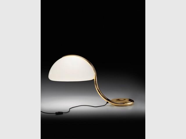 Une lampe serpent - Des lampes comme des bijoux