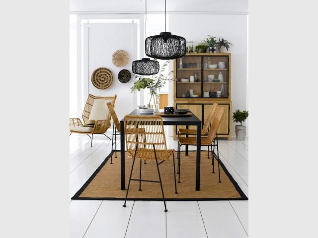 Un vaisselier nature pour une salle à manger végétale - Un vaisselier dans ma salle à manger