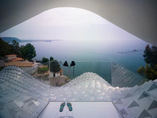 Un balcon sur la mer Méditerranée - Casa Campos - GilBartolomé Arquitectos