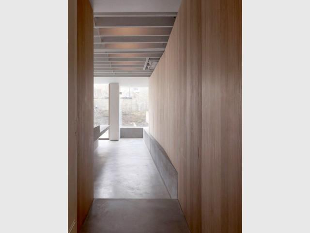 Du bois pour la chaleur, une baie vitrée pour la lumière - Extension sur une maison victorienne