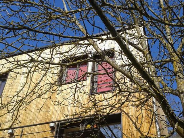 Fiche technique de la réalisation - Une surélévation ossature bois