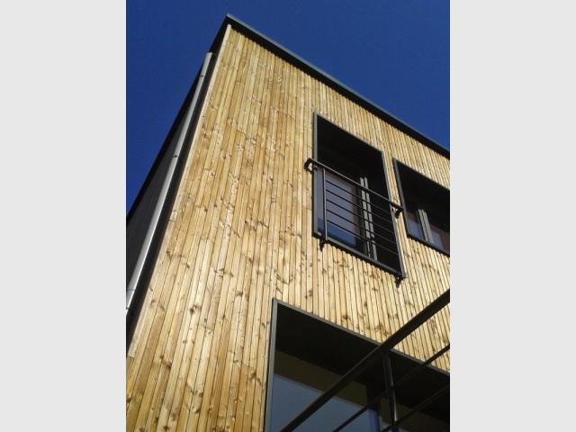 Une ossature bois légère - Une surélévation ossature bois