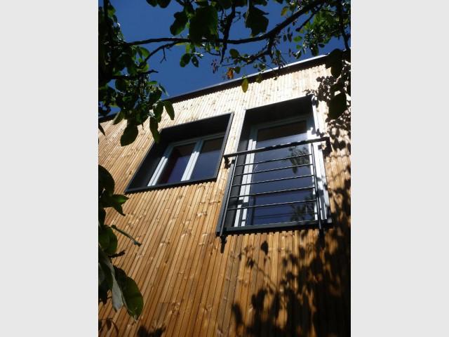 Une isolation par l'extérieur  - Une surélévation ossature bois