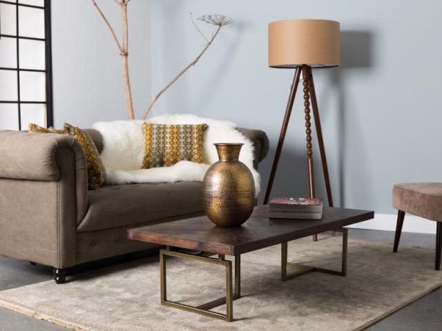 Un salon intimiste avec un petit canapé dans lequel se blottir - Opération cocooning