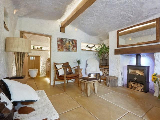 Une maison d'hôtes tout confort - Rockhouse Retreat : la maison troglodyte de luxe