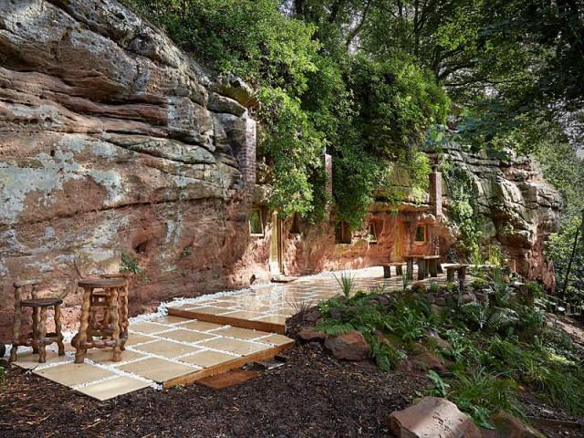 Rockhouse Retreat : la maison troglodyte de luxe