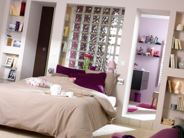 les carreaux de verre un l ment de d coration intemporel. Black Bedroom Furniture Sets. Home Design Ideas