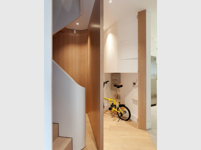 Une optimisation absolue de l'espace disponible - Flatiron House by FORM Design Architecture