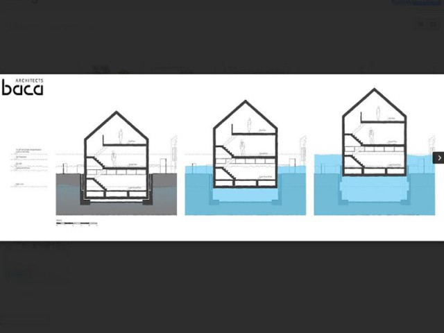 Une maison capable de se hisser à plus de 3 mètres - maison amphibie