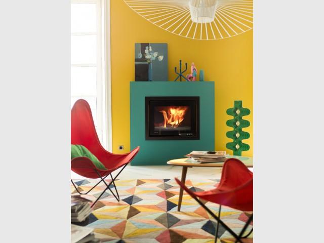 Choisir un poêle coloré - Mettre en valeur son poêle à bois
