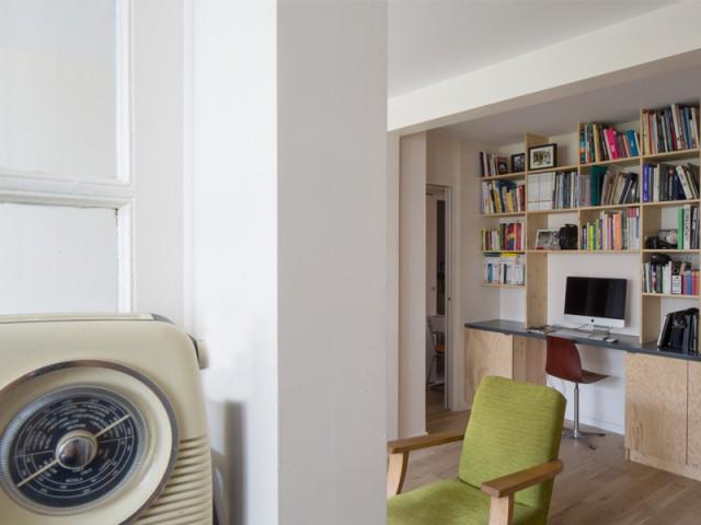 Une décoration vintage dépareillée - Un appartement où règne la récup'