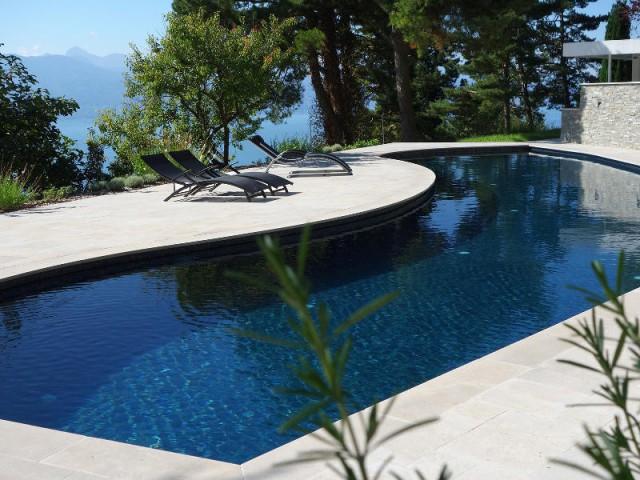 Catégorie Piscine familiale de forme libre  - Trophées de la piscine 2015 : Des piscines de rêve chez soi (1/2)