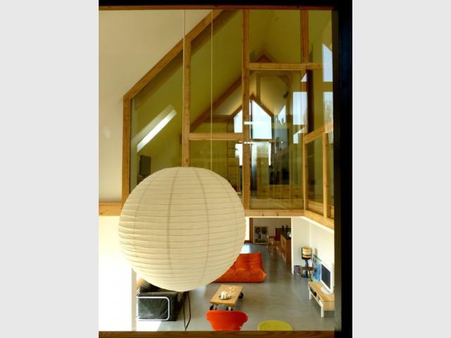 Une maison francilienne inspir e des granges de la r gion for Fiche technique construction maison