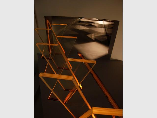Un escalier adapté aux très petites trémies de la maison - Escalier AERO