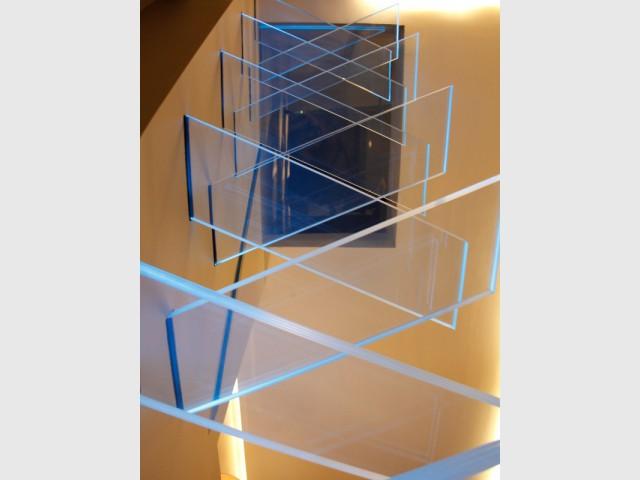 Un verre extra clair aux multiples propriétés   - Escalier AERO