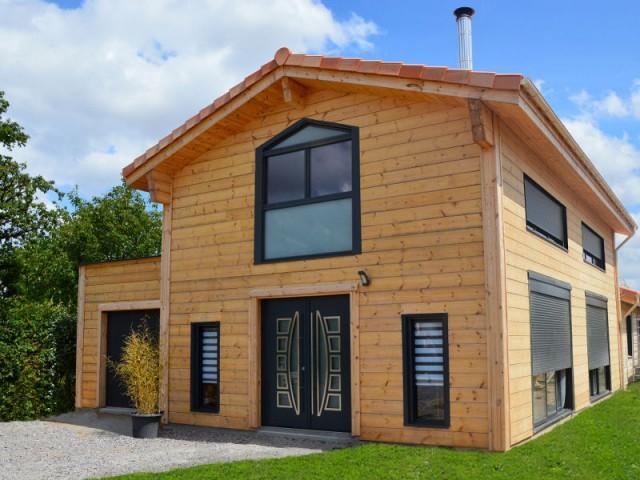 maison scandinave en bois ventana blog. Black Bedroom Furniture Sets. Home Design Ideas