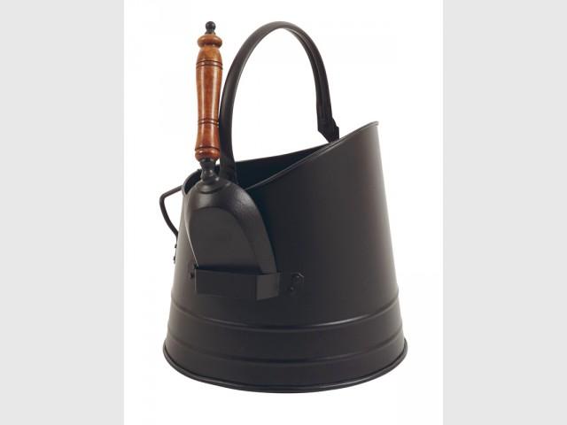 Seau à cendre petit mais efficace - Sélection accessoires cheminée