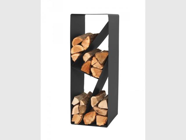 Range-bûches à compartiments - Sélection accessoires cheminée