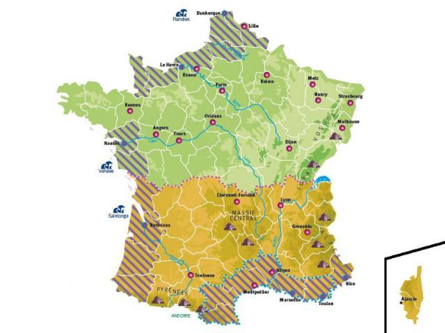 Les impacts possibles du changement climatique en France au cours du XXIe siècle