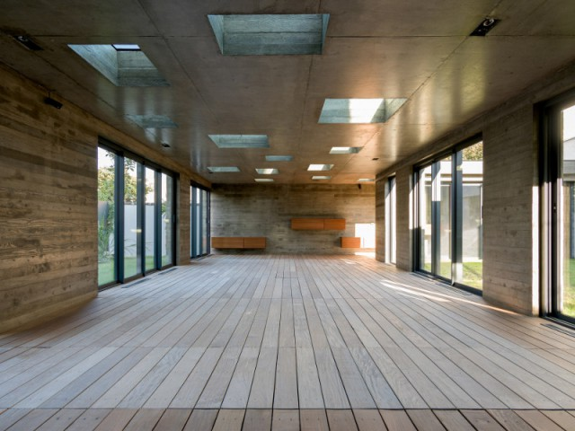 Architecture moderniste, style industriel et rangements - SKP Architecture - Aqua System - L'esprit piscine