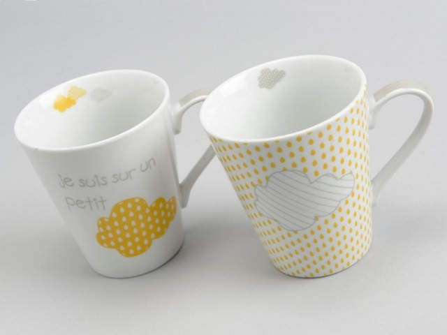 Un coffret de deux mugs pour 9,90 € - Cadeaux de dernière minute à moins de 10 €