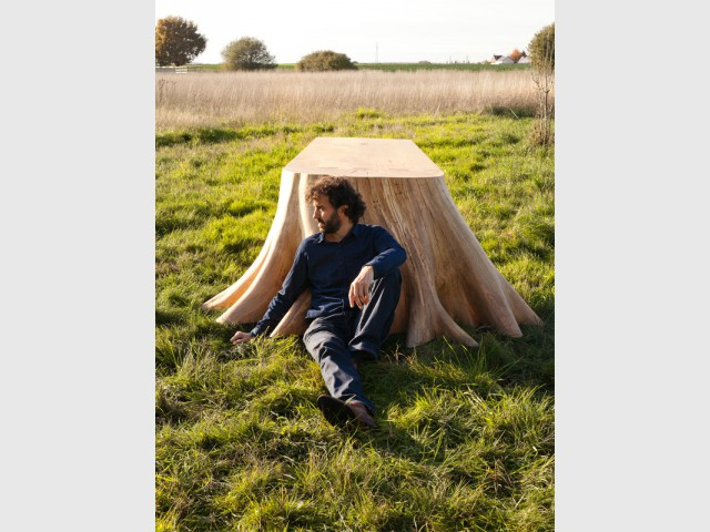 Un projet fédérateur qui valorise la filière bois - Table Racines carré - Thomas de Lussac