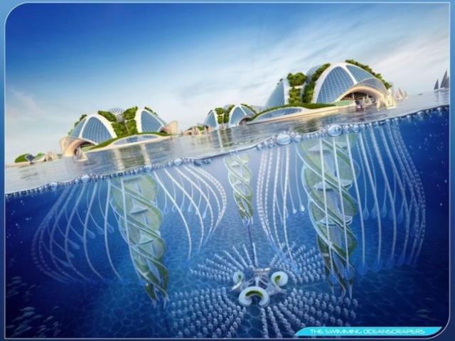 Mise à contribution des algues à tous les étages - Aequorea