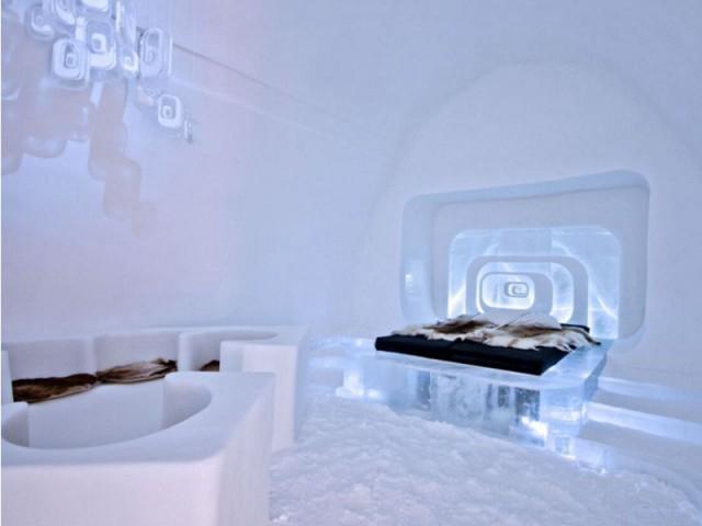 Le défi de la glace et de la neige - Love capsule