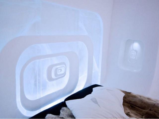 Des tonnes de glace et de neige pour une suite - Love capsule