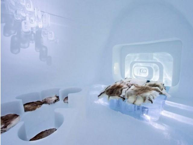 Ice Hotel, un savoir-faire particulier - Love capsule