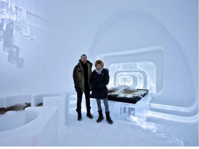Lauréats du Ice Hotel depuis deux ans - Love capsule