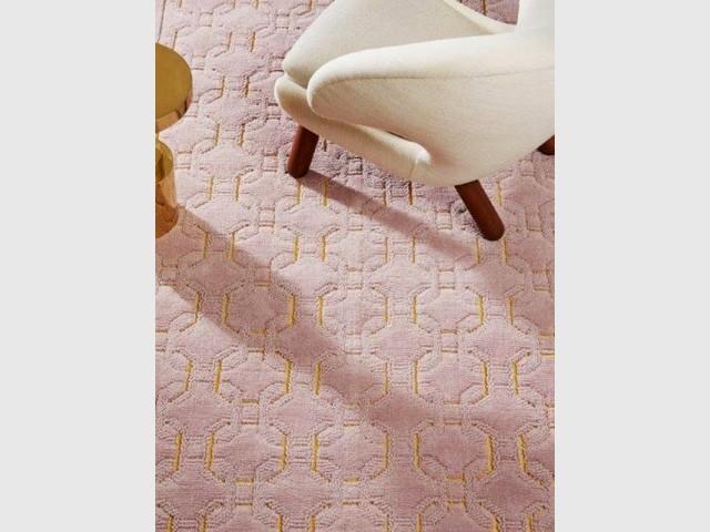 Un tapis coloris rose Quartz - Tendance Rose Quartz et Serenity