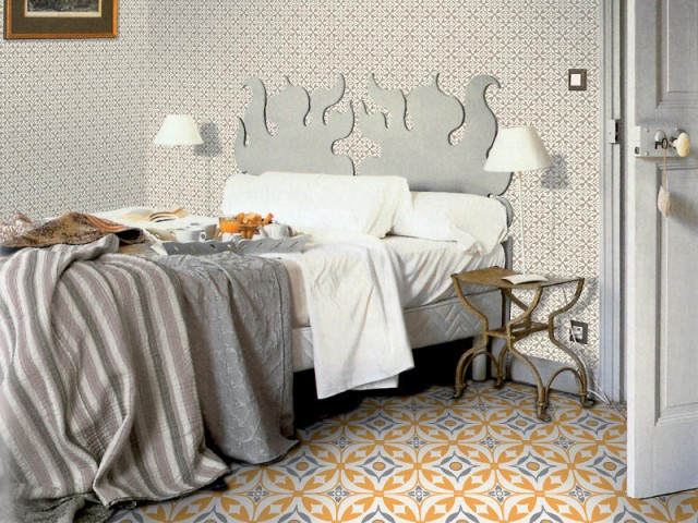 Un sol coloré - Des chambres vraiment originales