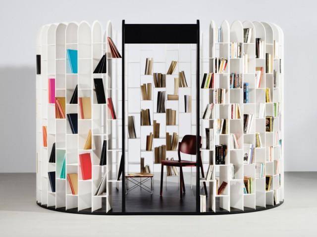Rooms, bibliothèque Area Gilles Belley