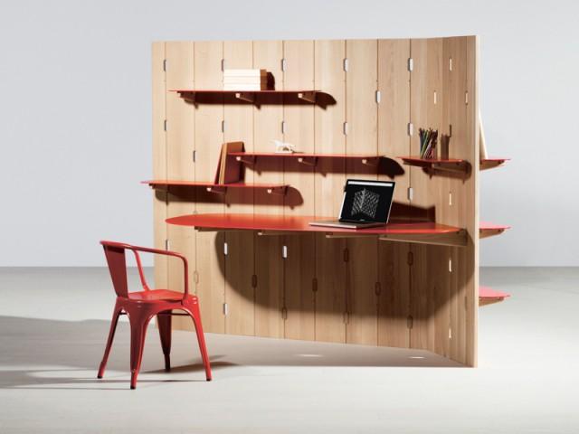Rooms, bureau/rangement Wall