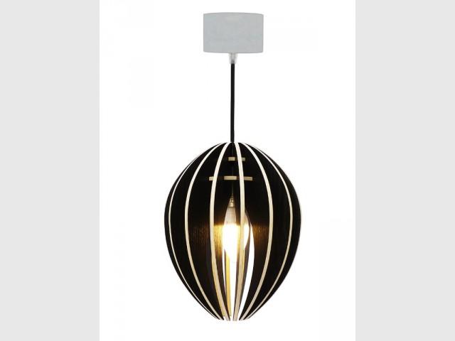 Une lampe en bois labellisé et béton breveté - Prix Fil Vert Maison & Objet janvier 2016