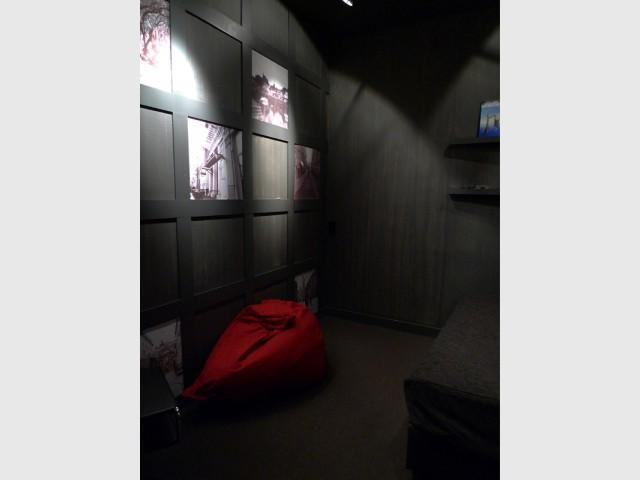 Des photos comme des fenêtres fictives - Rénovation d'une cave parisienne
