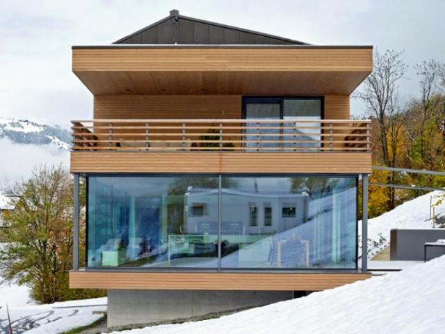 1 chalet moderne performant et ouvert sur la montagne. Black Bedroom Furniture Sets. Home Design Ideas