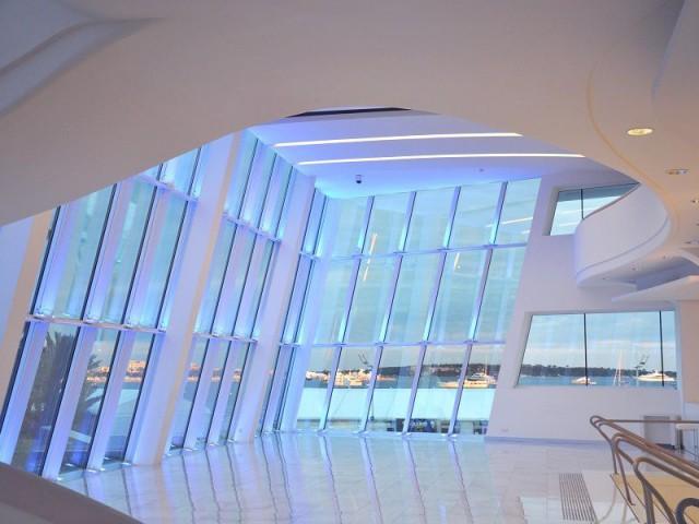 Mise en lumière de la façade et espace VIP - Palais des Festivals de Cannes