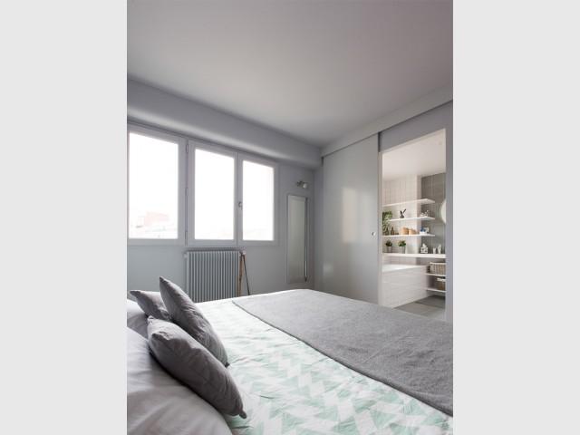Une suite parentale modulable - Un appartement à l'élégante sobriété