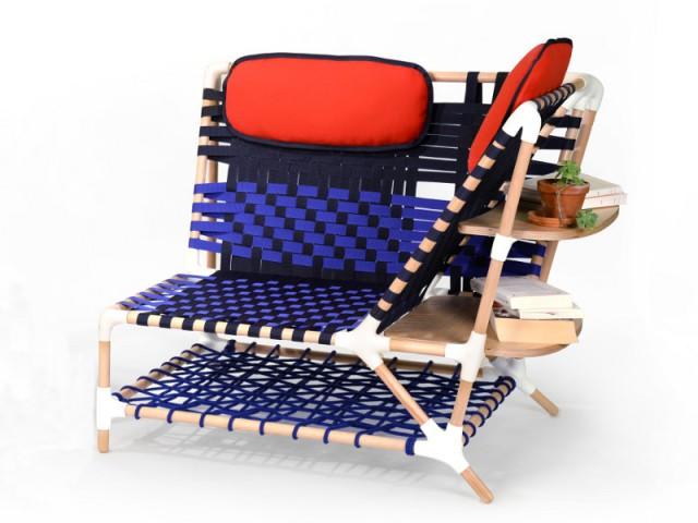Le fauteuil Coqenpâte - Collection Drôles d'Oiseaux